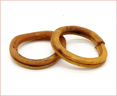 Bully Sticks for puppies 2 rings pack