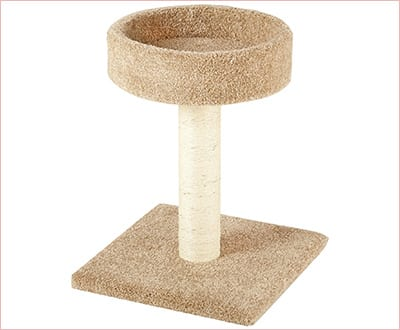 Cat tree with scratching posts by Amazon Basics