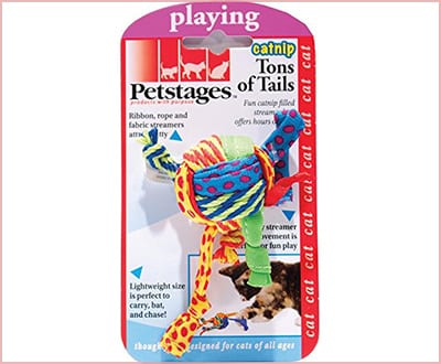 Catnip toss and bat toy by Petstage