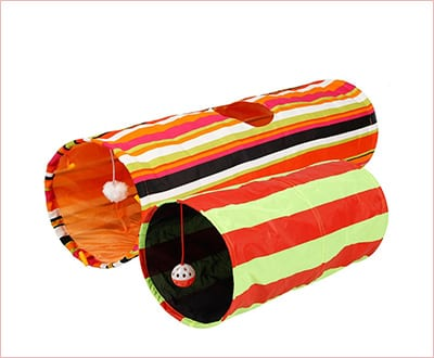 Collapsible cat tunnel by Pet Magasin