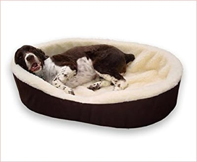 Dog bed King Cuddler with washable covers