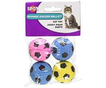 cat ethical products spot sponge toys for indoor cats