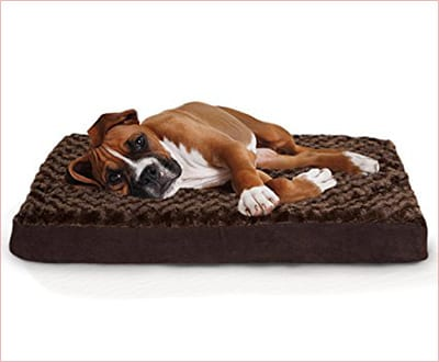 Furhaven Pet Deluxe orthopedic mattress for dogs