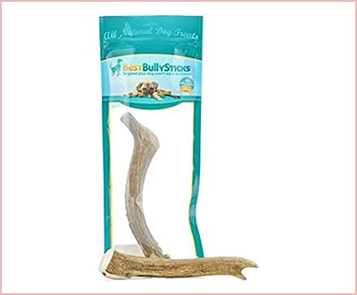 Grade A Elk and Deer Antler dog chews bully sticks