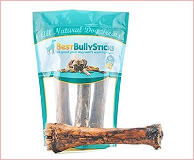 Jumbo Smoked shin bones by Best Bully sticks