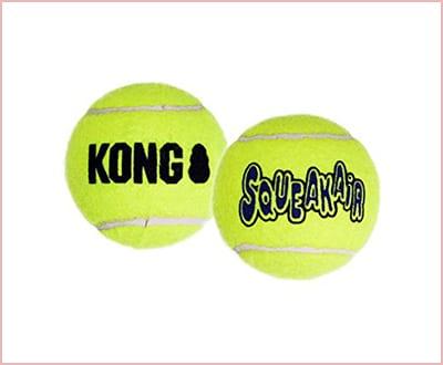 KONG Air dog squeakair dog toy tennis balls