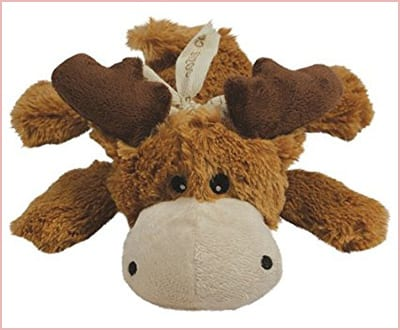 KONG Cozies dog squeaky toy moose model