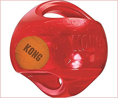 KONG Jumbler ball dog toy extra large