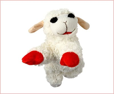 Lamb Chop dog toy by Multipet