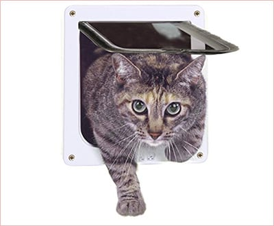 MOOST 4 way locking cat door