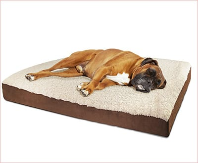 OxGord orthopedic pet bed fordogs