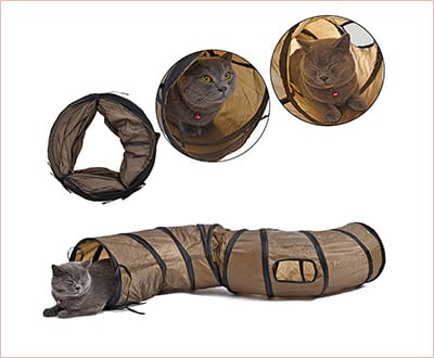 Pawz road cat toy collapsible tunnel