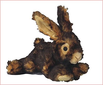 Pet Lou plush toy for dogs rabbit model