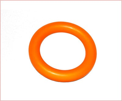 PlayfulSpirit durable natural rubber ring for puppies