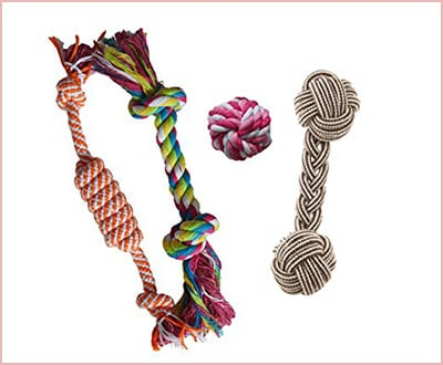 Puppy chew teething rope small size
