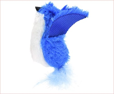 Squeaky bird toy interactive toy for cats
