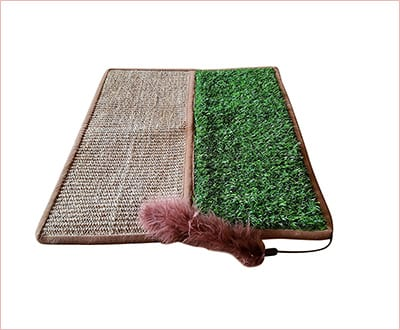 textured cat mat by Pawfect Pets