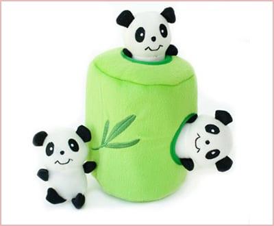 ZippyPaws Burrow Squeaky plush dog toy