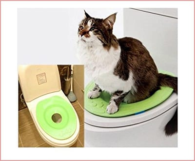 Cat Kit kitty pet toilet seat training system by NABIUGI