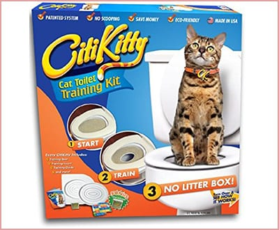 CitiKitty as seen on shark tank cat toilet training kit