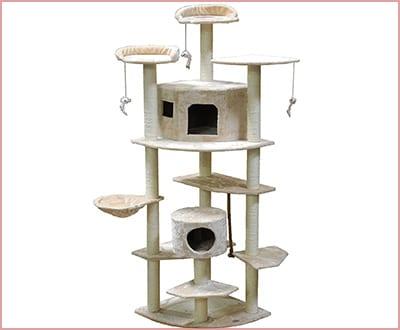 Go Pet cat club tree F2030 condo for cats