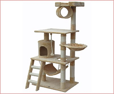 Go Pet Club tree condo F67