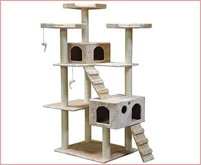 Go Pet Club F2440 72 inch high cat tree condo