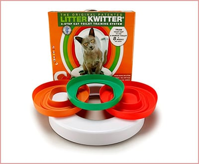 Hiltow cat 3 steps toilet training kit