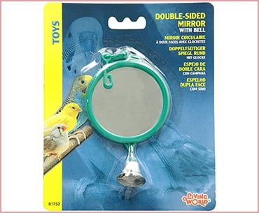 Living World Double-Sided Mirror