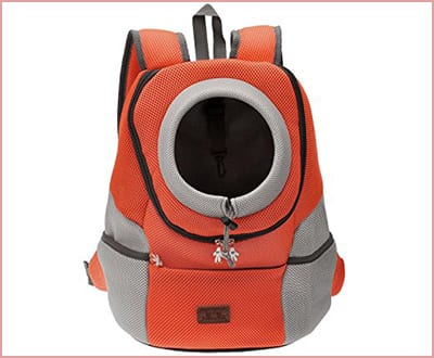 Mangostyle pet portable carrier backpack with breathable mesh