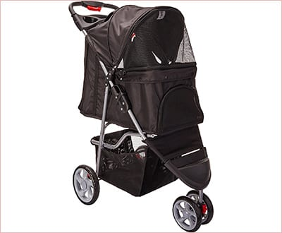 OxGord Pet stroller cat carrier