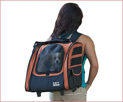 Pet Gear I GO2 traveler roller backpack for small animals