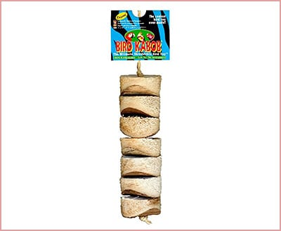 Wesco shreddable bird toy for parrots
