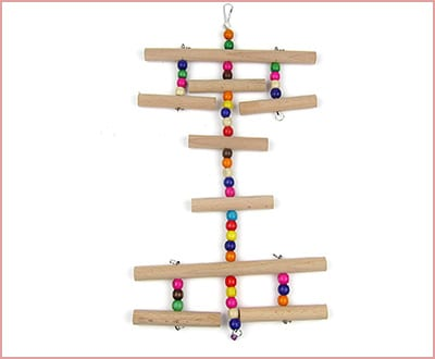 Alfie pet wooden ladder for birds by Petoga couture