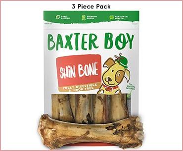 best baxter boy premium grade roasted beef shin bones for dogs