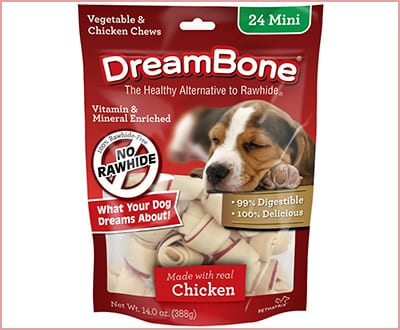 DreamBone chicken dog chew bones