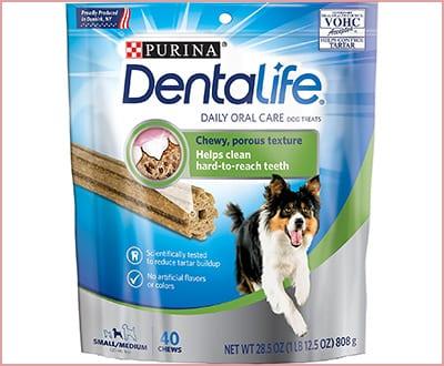 Purina DentaLife daily oral care bones