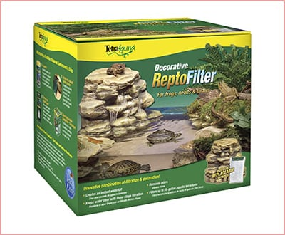 Tetra 25905 decorative reptile filter for aquariums