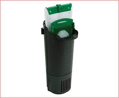 Whisper 25816 in tank filter with bioscrubber for aquariums
