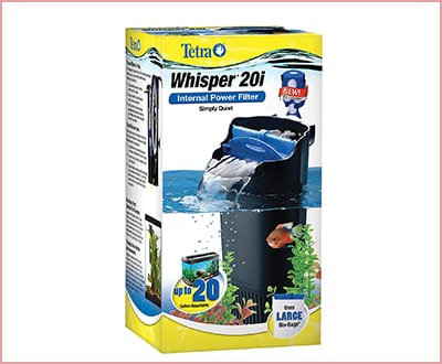 Whisper 25817 in tank filter with bioscrubber for aquariums