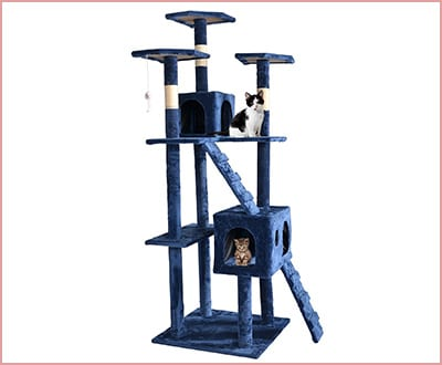 BestPet cat tree scratcher play house condo furniture bed