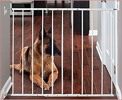 Command wall mounted gate for dogs