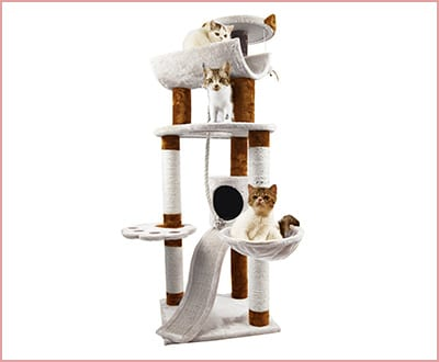 Favourite 6 tier multi function cat tree condo