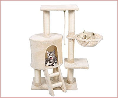 FirstWell Cat tree multi level activity center