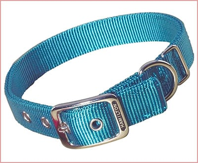 Hamilton double thick nylon deluxe adjustable dog collar
