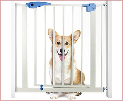 Weebo Pets heavy duty easy open dog gate