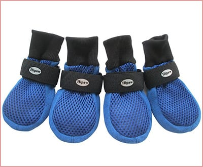 HiPaw breathable dual mesh dog boots