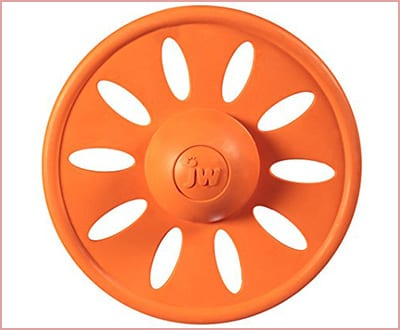 JW Pet whirlwheel flying disk dog toy