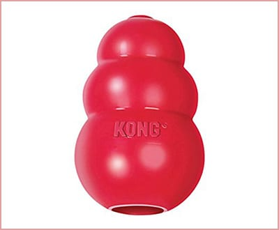 Kong classic large rubber dog toy