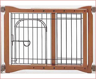 Richell adjustable pet sitter dog gate